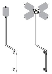 TerraStat® TS400 Dissipation Terminals (TS400-58-48-SRO-HMP)