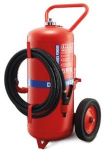 Bình chữa cháy bột xe đẩy chống ăn mòn Eversafe ABC/Monnex