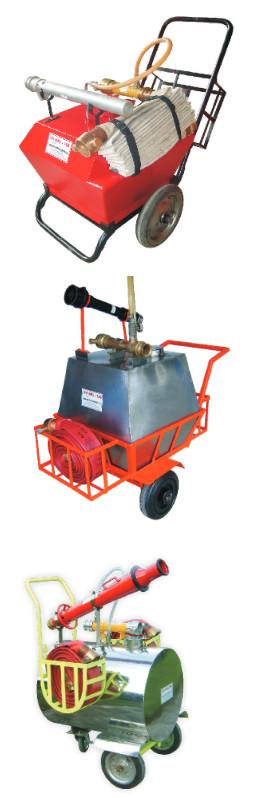 Bồn chữa cháy Foam di động IFP MFU (100L,150L,200L)