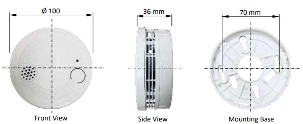 Dau bao khoi sử dụng Pin Model HSA-300 & HSA-300-W