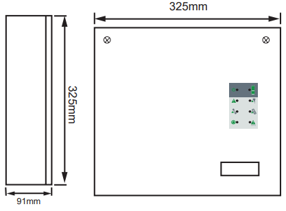 FAD-905, Tủ Nguồn phụ tủ báo cháy trung tâm điện 24Vdc 5A