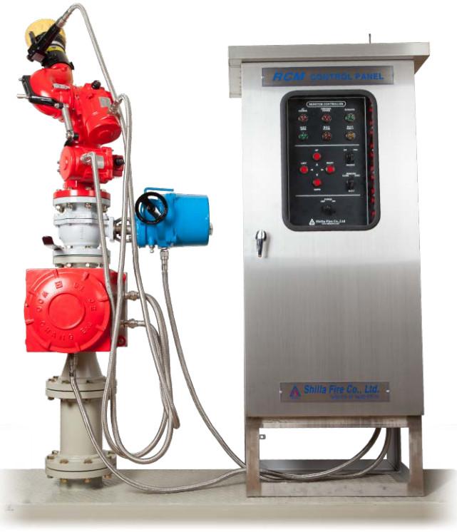 Súng phun nước cứu hoả điều khiển bằng điện Shilla-Korea