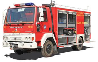 Xe vận chuyển thiết bị chữa cháy NewAge