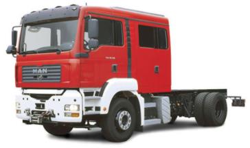 Xe chữa cháy cabin thiết kế mở rộng
