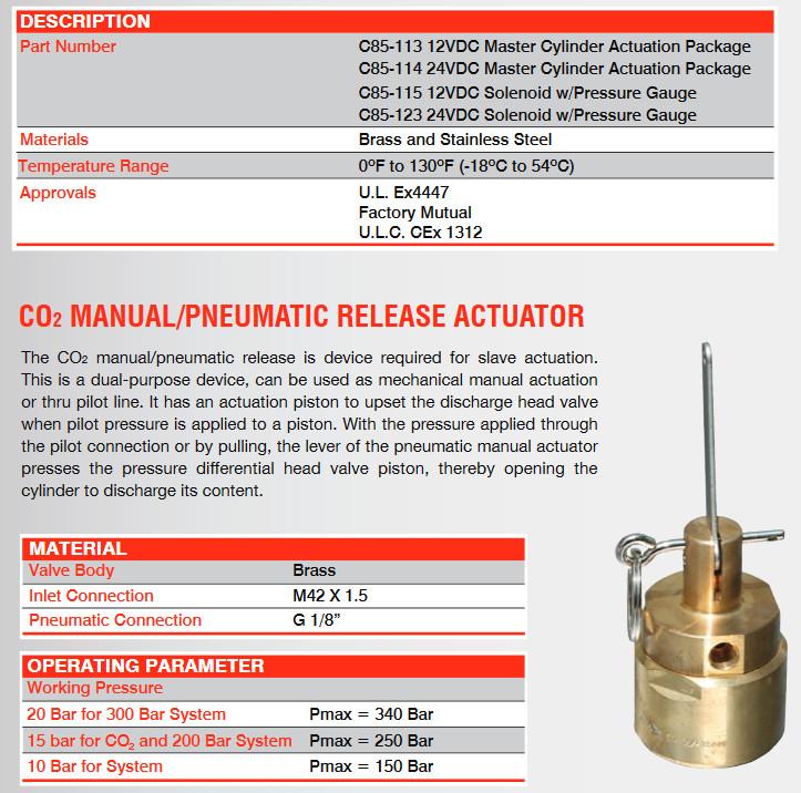 Hệ thống chữa cháy Khí CO2 Naffco - Các hệ thống chữa cháy khí, Giá tốt nhất tp HCM