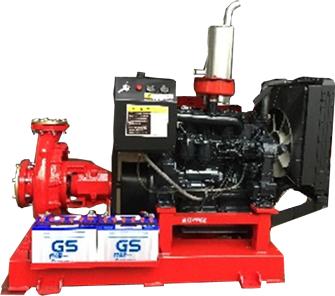 Máy bơm chữa cháy động cơ DIesel Model KL 100-250/55Kw