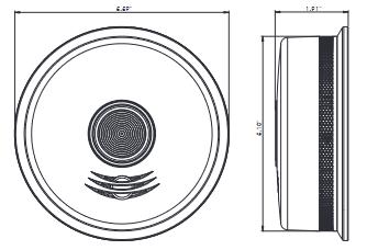 Đầu báo khói kết nối không dây Kidde P4010LACS-W