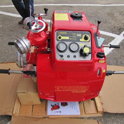 máy bơm chữa cháy xăng Tohatsu VC82ASE