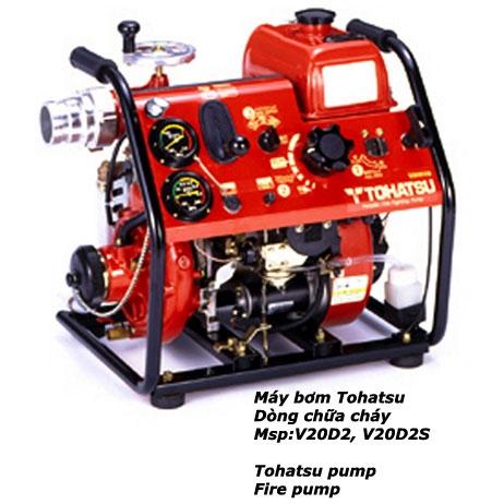 Máy Bơm Chữa Cháy Xăng Tohatsu V20 D2S
