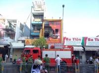 4 người thiệt mạng trong đám cháy ở thành phố Hồ Chí Minh