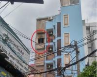 Cháy lớn tại căn nhà 5 tầng ở TP. HCM, 4 người gặp nguy kịch