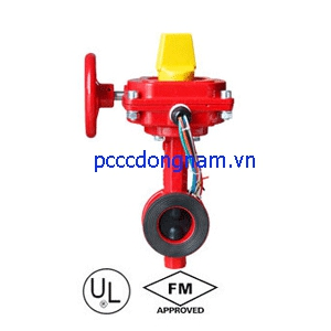 Van bướm. butterfly valve Wafer